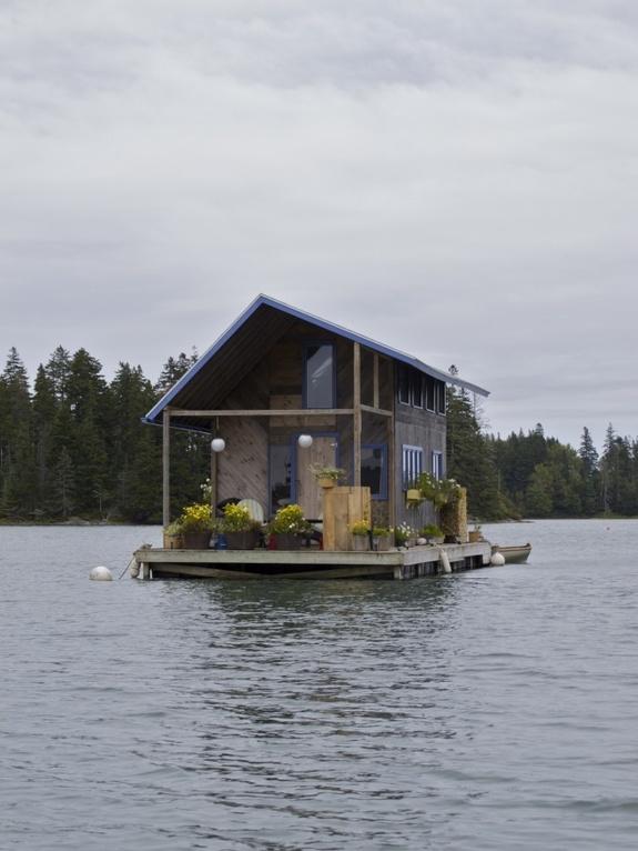 Плавучие дома своими руками