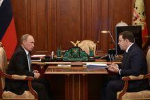 «Как дела, Евгений Владимирович?»: Путин встретился с Куйвашевым
