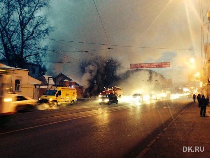 Горевший в центре Екатеринбурга федеральный памятник оказался бесхозным