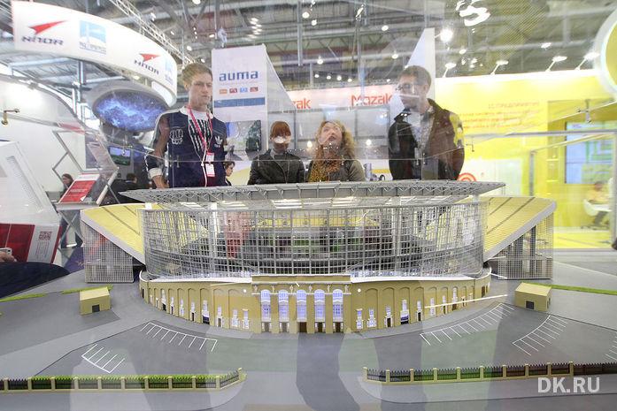 Реконструкцию Центрального стадиона Екатеринбурга оценили в 12 млрд руб.