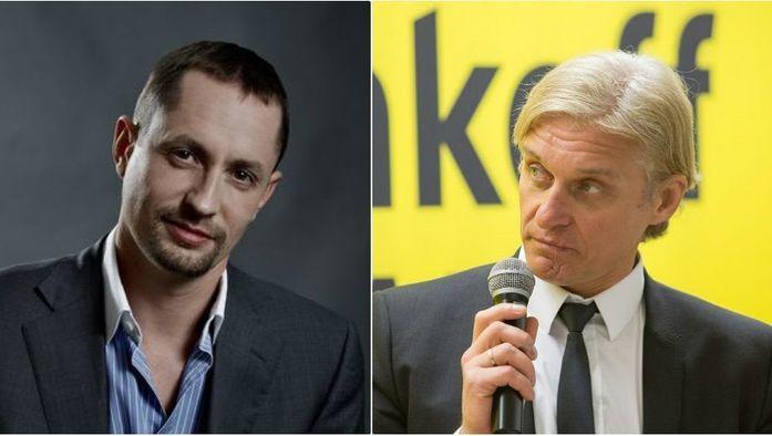 «Ведро смузи с доставкой!» Дьяконов и Тиньков устроили спор о лучшем банке для бизнеса