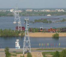 """В Нижнем Новгороде """"подвисли"""" проекты трех новых канатных дорог"""