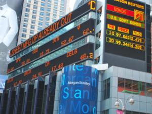 Ухудшен прогноз Morgan Stanley о курсе рубля на 2016 год