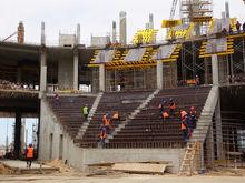 Питерский субподрядчик стадиона в Нижнем Новгороде оставил рабочих без зарплаты