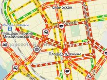 Новосибирск сковали 10-балльные пробки