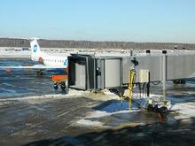 Аэропорт Стригино возобновил работу телетрапов