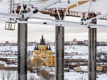 Строительство стадиона в Нижнем Новгороде: фоторепортаж