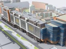Бывший вице-губернатор строит жилой комплекс у здания областного МВД