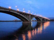 Коммунальный мост в Красноярске закроют завтра вечером и на все лето