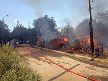 Собственникам сгоревших в Ростове домов дадут право выбора
