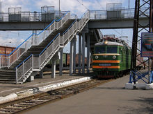 На станции Енисей в Красноярске начался ремонт виадука
