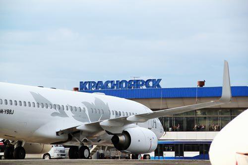 Аэропорт Емельяново в Красноярске
