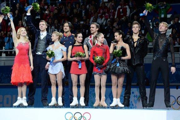 Награждение российских фигуристов, Олимпиада 2014