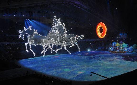 Открытие Олимпиады в Сочи 3
