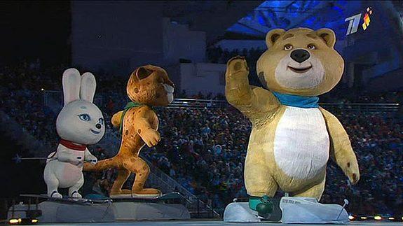 Открытие Олимпиады в Сочи 4