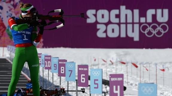 Олимпийские игры 2014: биатлон
