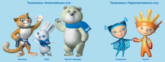 символ олимпиады-2014