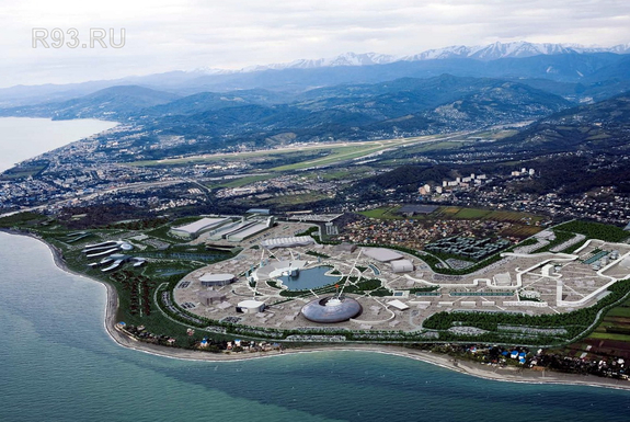 Олимпийские объекты Сочи-2014 1