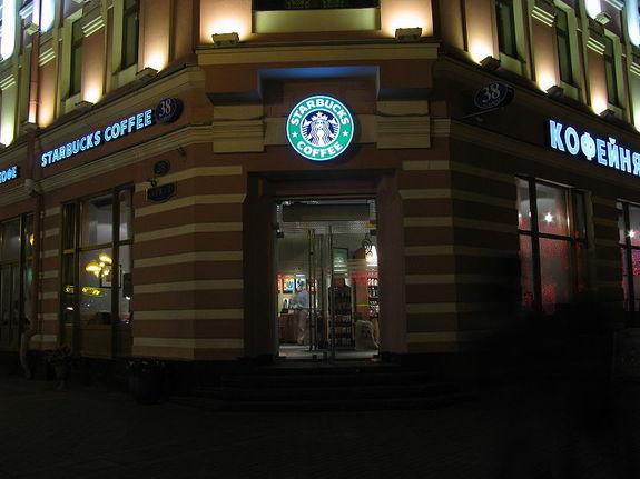 Starbucks в России 4