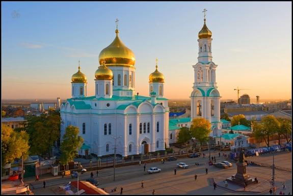 Соборная площадь в Ростове-на-Дону 1