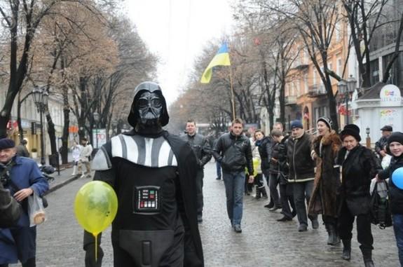 Дарт Вейдер, Украина