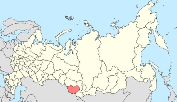 Алтайский край карта