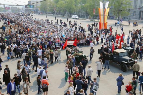День Победы в Новосибирске 2015 3