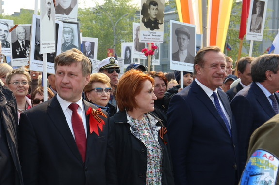 День Победы в Новосибирске 2015 4