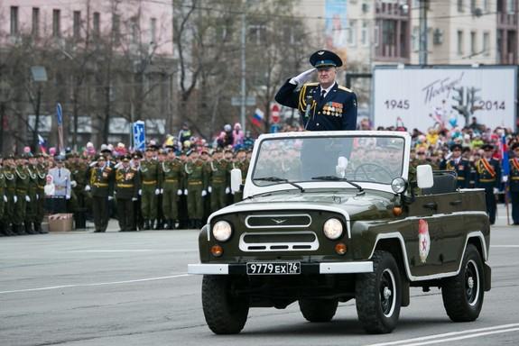 День Победы в Челябинске 2014 2