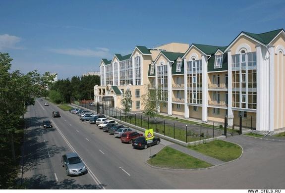 Гостиничный комплекс «Алмаз» в Челябинске
