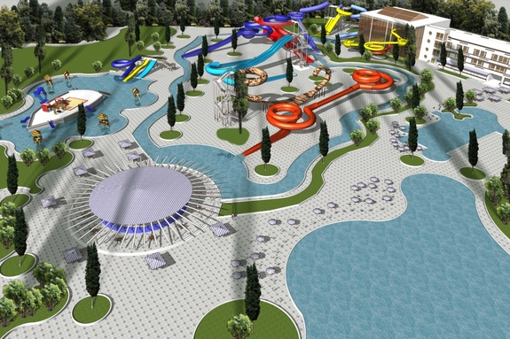 Акваинвестпроект Аквапарк в Батайске
