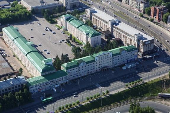 Торгово-офисный центр MEGGAPARK