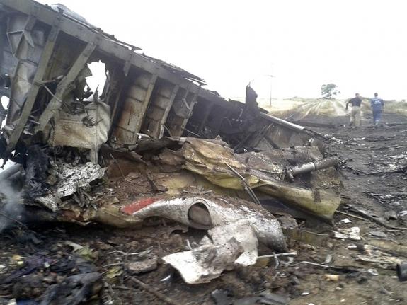 Крушение Боинга на Украине