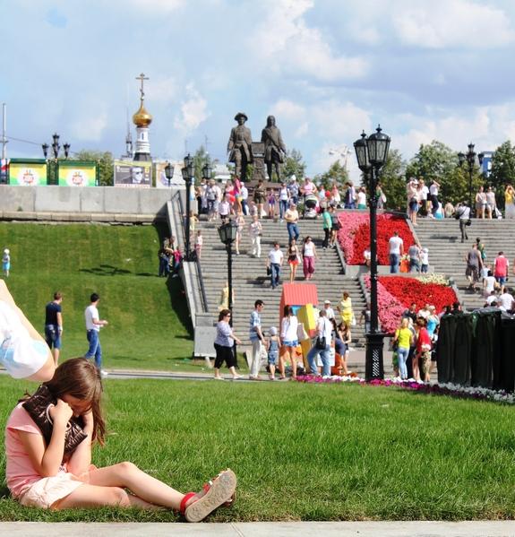 Плотинка. День города Екатеринбурга