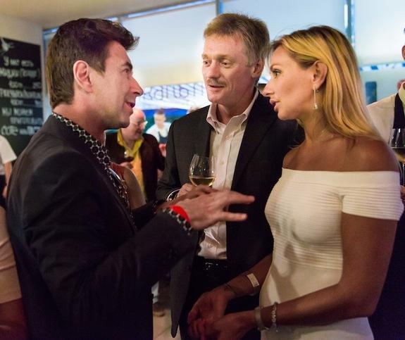 Татяна Навка и Дмитрий Песков