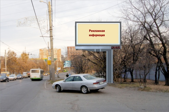 Реклама в Красноярске 1