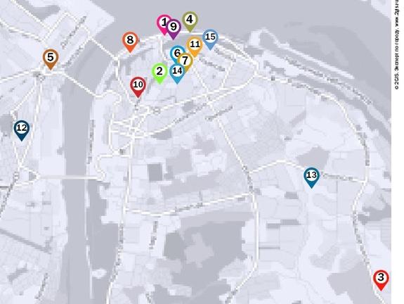 Рейтинг гостиниц Нижнего Новгорода 2
