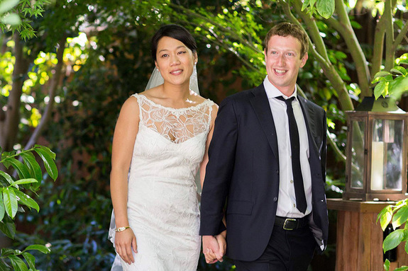 Цукерберг Марк и жена