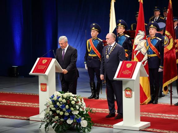 Борис Дубровский вступил в должность губернатора Челябинской области 2