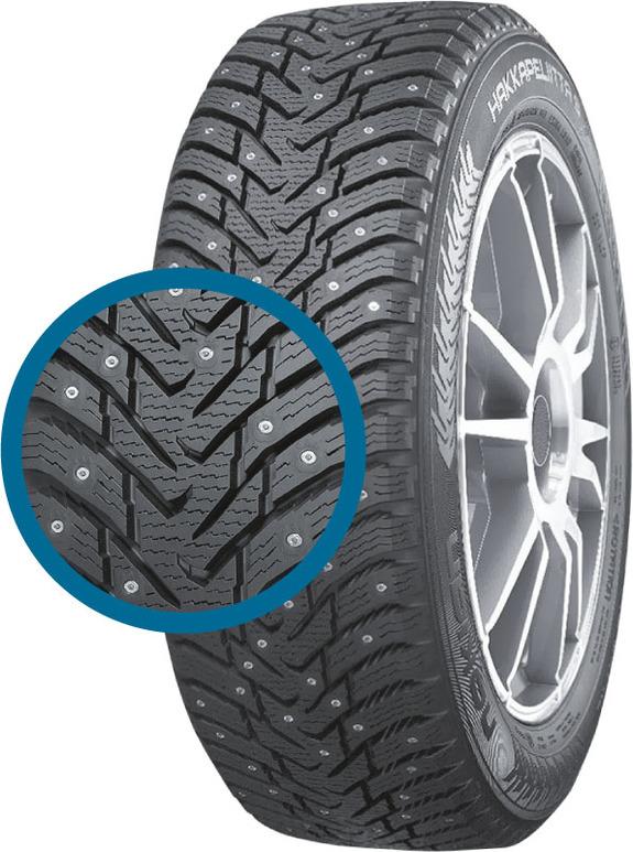 Зимние шипованные шины - лучшие по результатам тестов 1