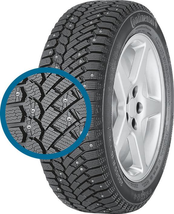 Зимние шипованные шины - лучшие по результатам тестов 2