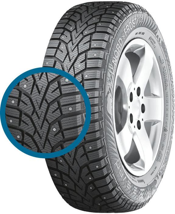 Зимние шипованные шины - лучшие по результатам тестов 4