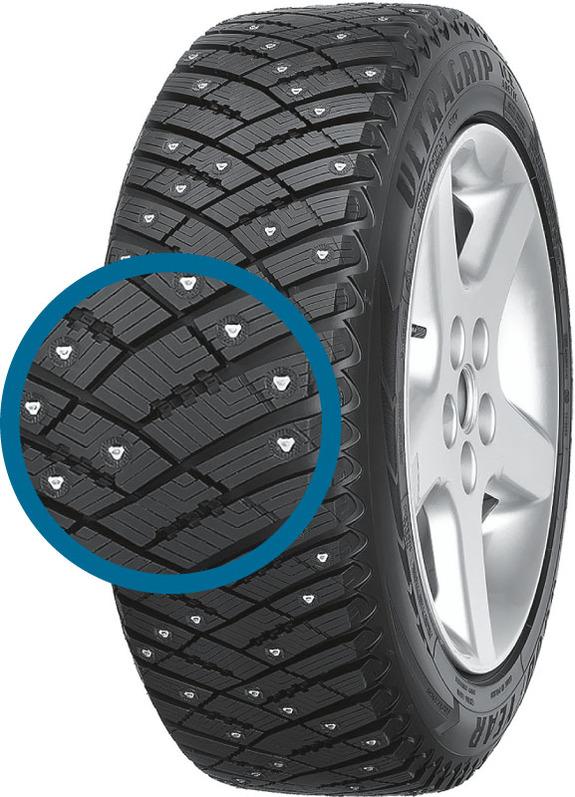 Зимние шипованные шины - лучшие по результатам тестов 5