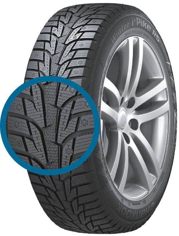 Зимние шипованные шины - лучшие по результатам тестов 6