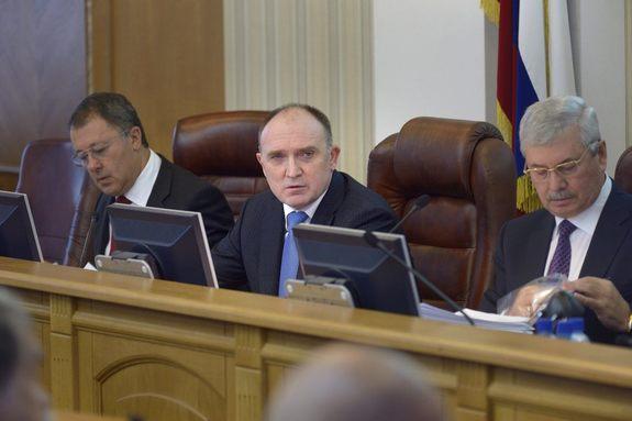 Челябинская область вернулась к одноглавой системе управления 1