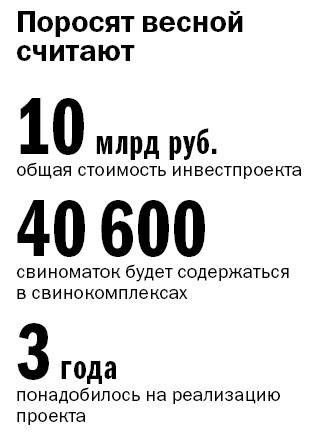 Фоторепортаж: «Ариант» запускает свинокомплексы за 10 млрд руб. 1