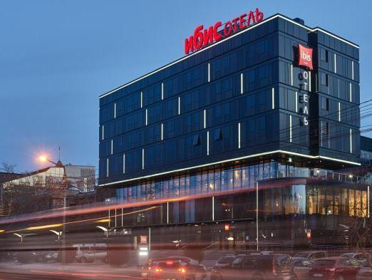 Найти номера: карта гостиниц Красноярска для бизнеса 12