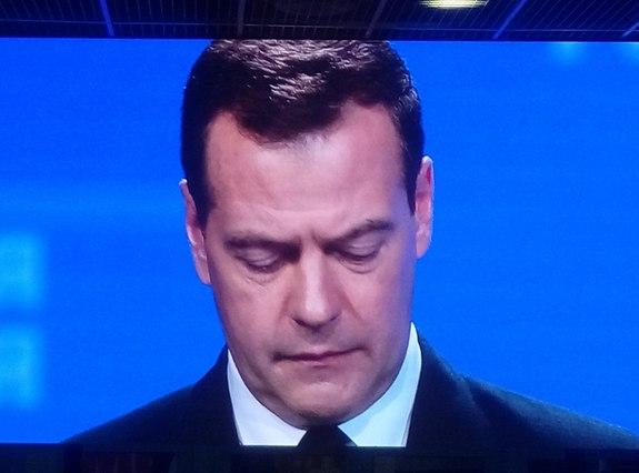 Медведев выступил на форуме в Магнитогорске 3