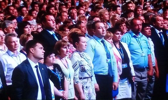 Медведев выступил на форуме в Магнитогорске 1
