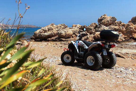 На квадроцикле по острову Родос: авто-лайфхак от Дмитрия Елизарова 4